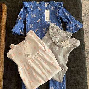NWT Janie and Jack 18-24 month rompers